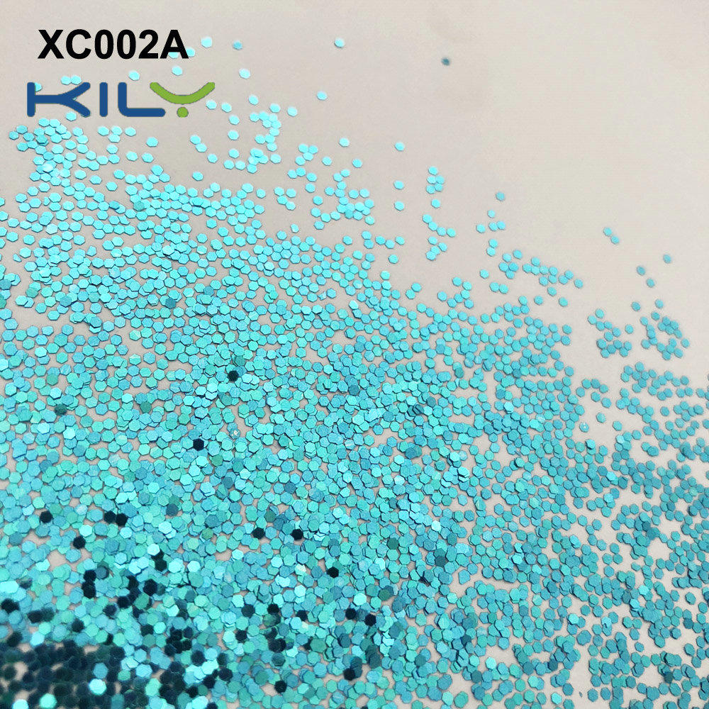KILY Cosmetic PET Glitter two colors shifting glitter XC002-A