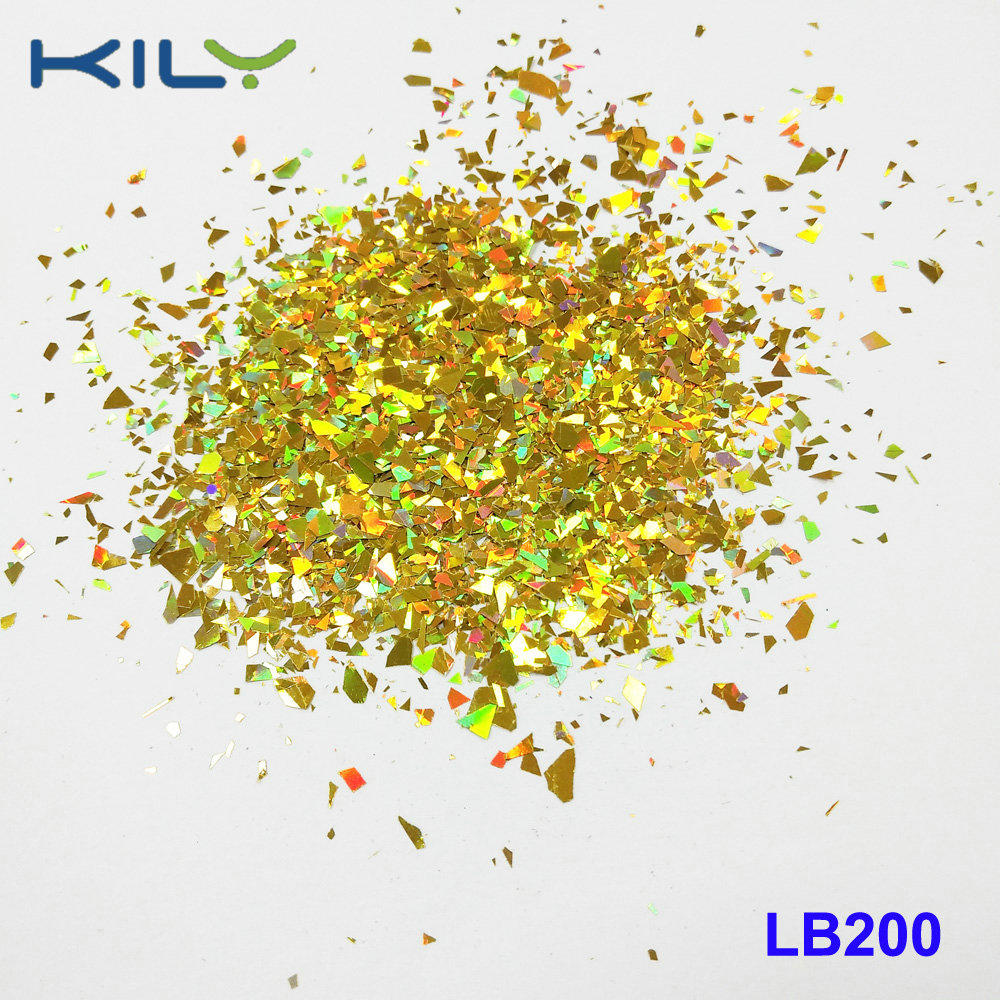 KILY Festival Makeup Glitter Cosmetic PET Shapes Glitter LB200-4