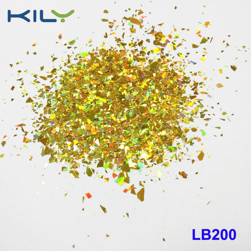 KILY Festival Makeup Glitter Cosmetic PET Shapes Glitter LB200-4