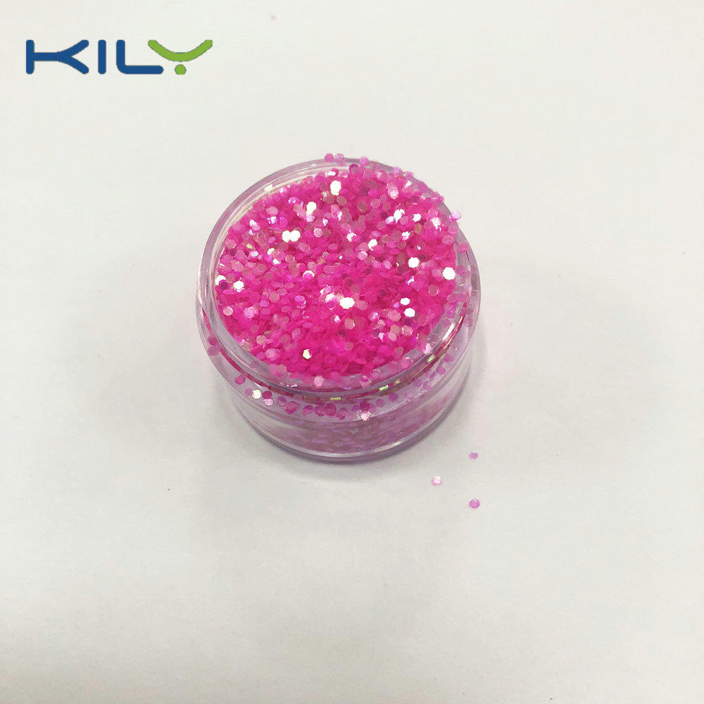 KILY Cosmetic Polyester Regular Glitter Rainbow Glitter for Christmas C53-s1
