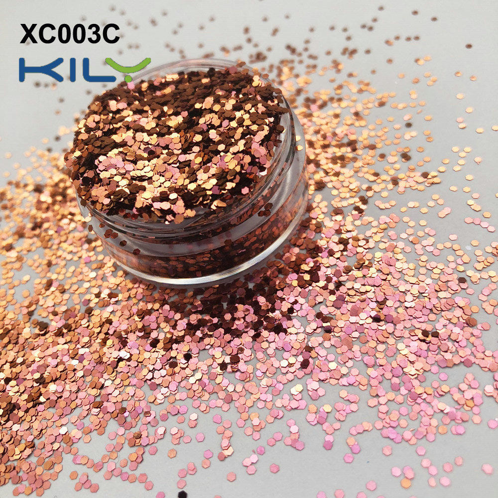 KILY Shifting Glitter Face and Body Makeup Glitter for Party XC003C-1