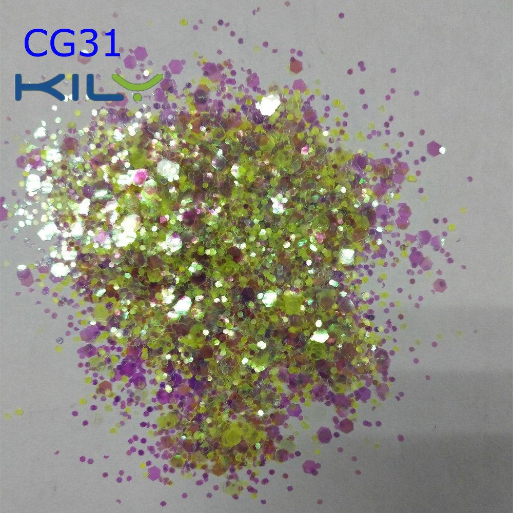 KILY Festival Face and Body Chunky Glitter CG31