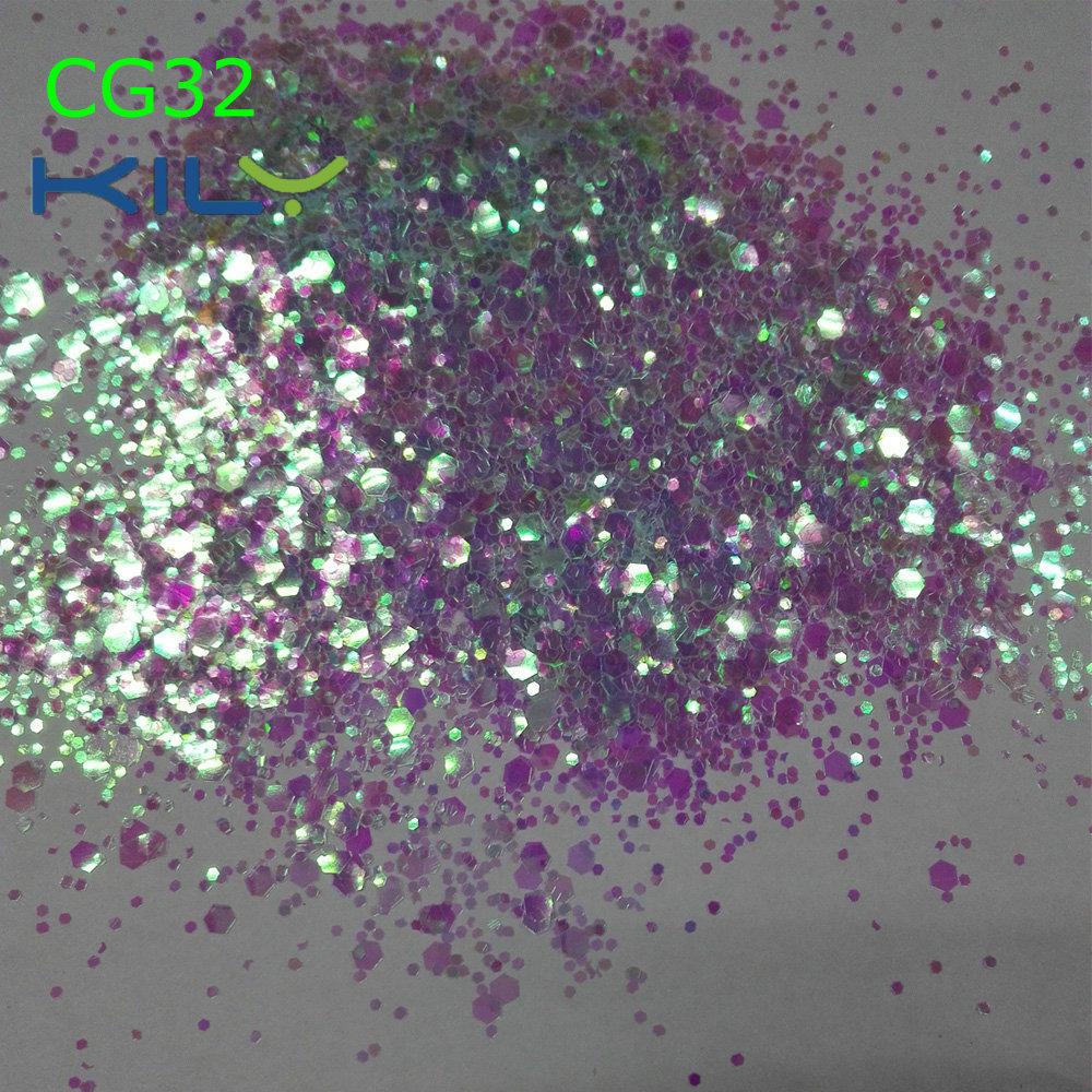 KILY Fine Glitter Cosmetic Chunky Glitter for Eye CG32