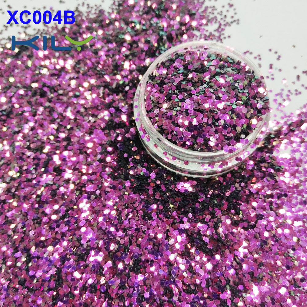 KILY Rose Shifting Color Glitter Small Flake Eye Glitter for COACHELLA  XC004B