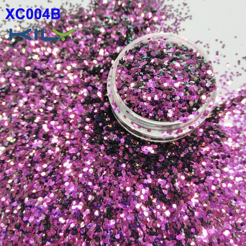 KILY Rose Shifting Color Glitter Small Flake Eye Glitter for COACHELLA  XC004B
