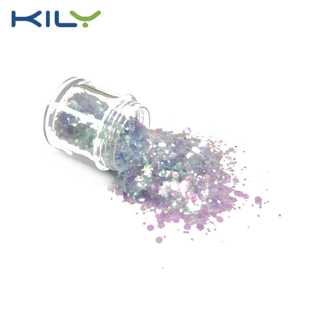 KILY Bulk Glitter Quality Mixed Color Cosmetic Glitter for Lip CG35