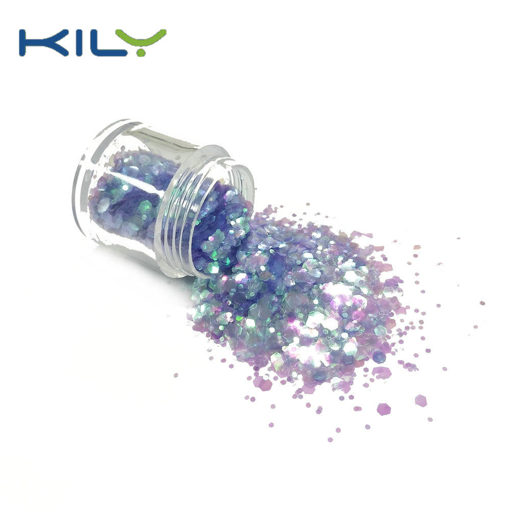 KILY Festival makeup glitter mix color face and body cosmetic glitter CG37