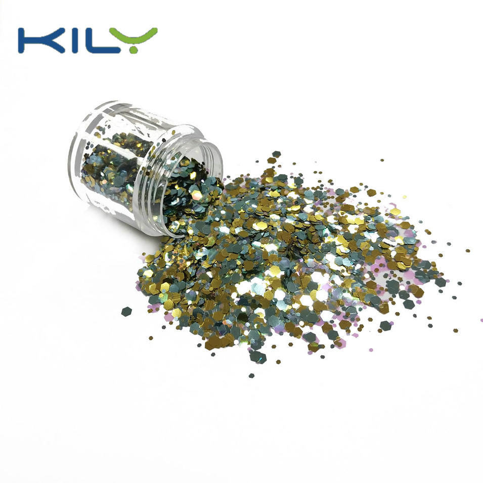 KILY Carnival Beauty Makeup Color Glitter Chunky for Eyes CG39