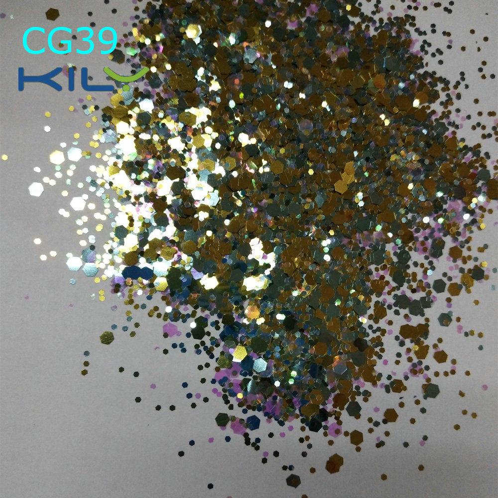 KILY Carnival Beauty Makeup Color Glitter Chunky for Eyes CG39