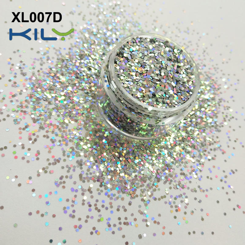 KILY Festival two color glitter shifting makeup glitter for face and body XL007D