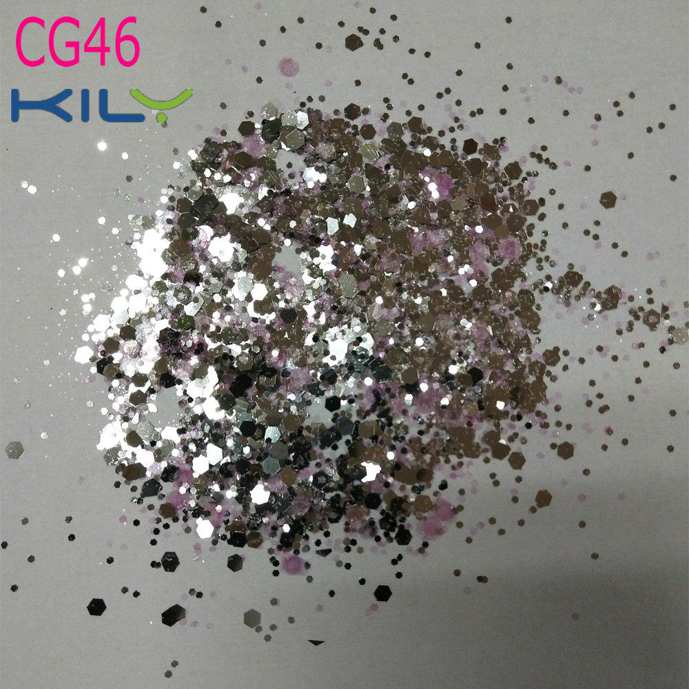 KILY Colorful Mixed Glitter Face Body Hair Nail Art mermaid Makeup CG46