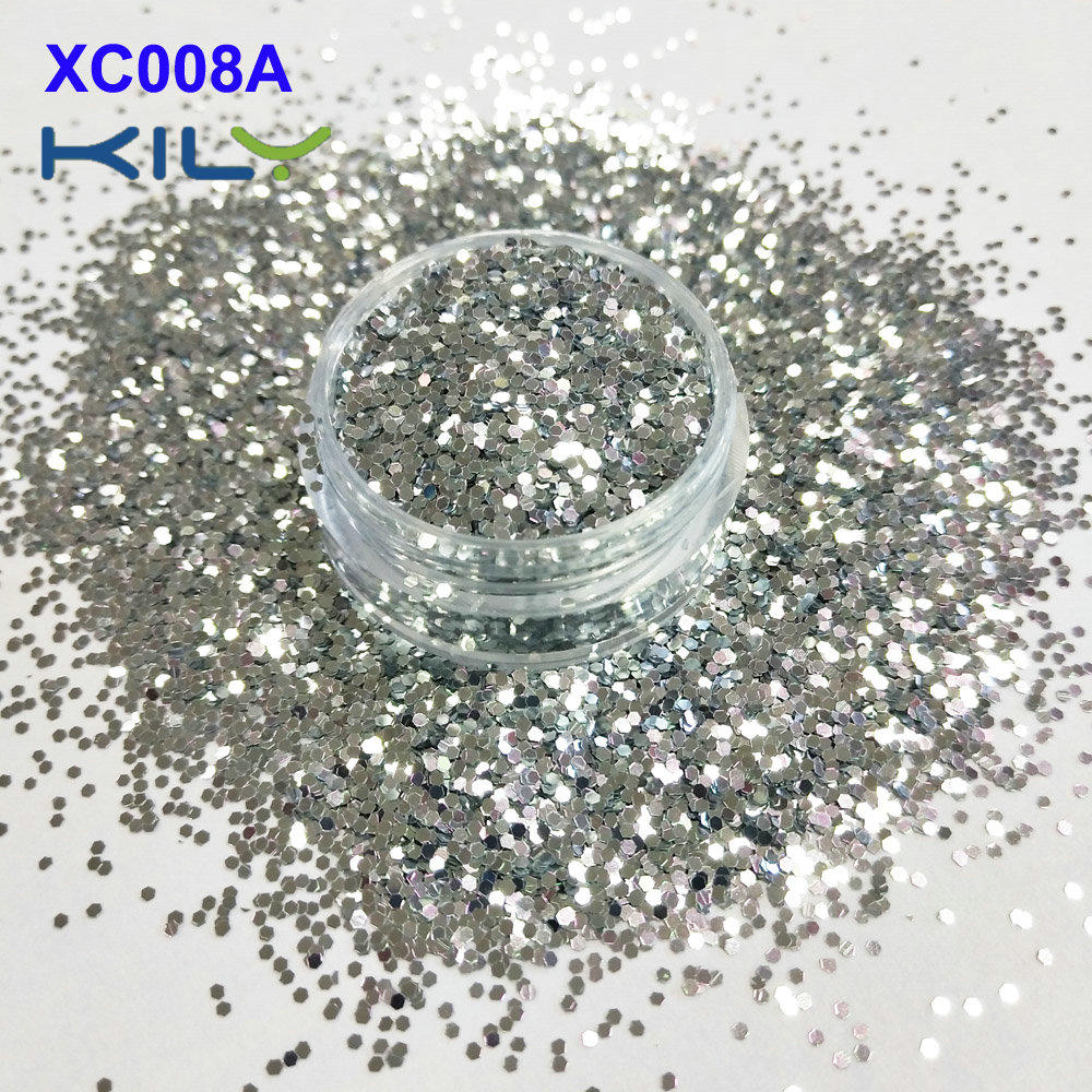 KILY Color Change Shifting Glitter for Face and Body Makeup XC008A