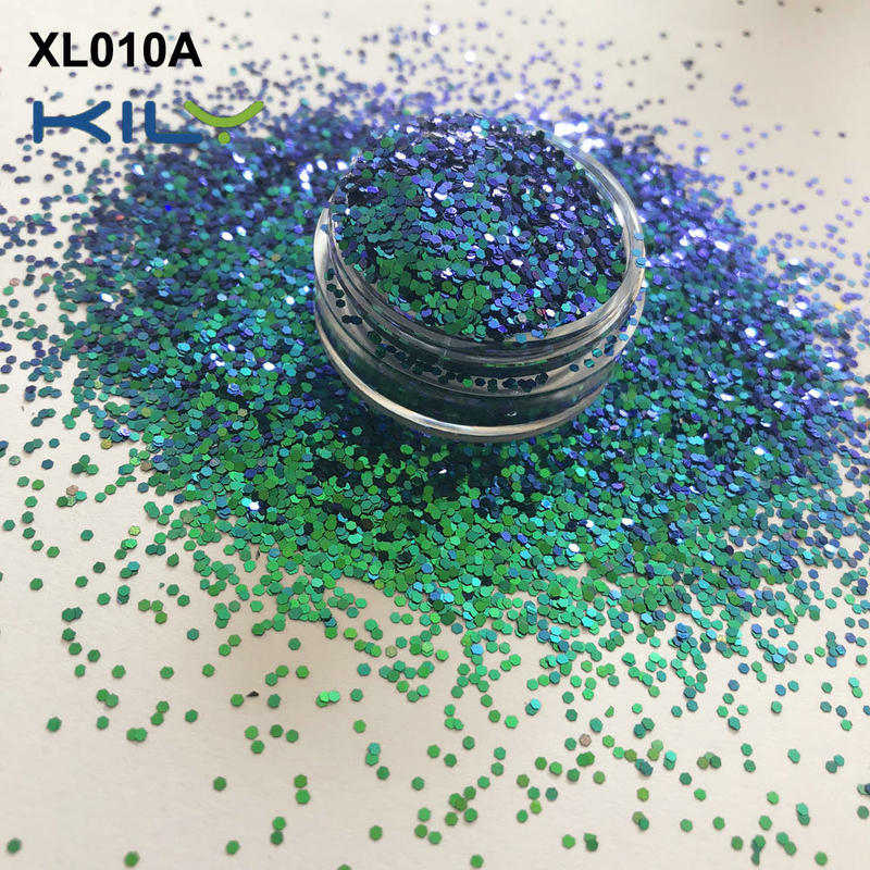 KILY Shine Glitter Shifting Change Glitter for Cosmetic Business XL010A