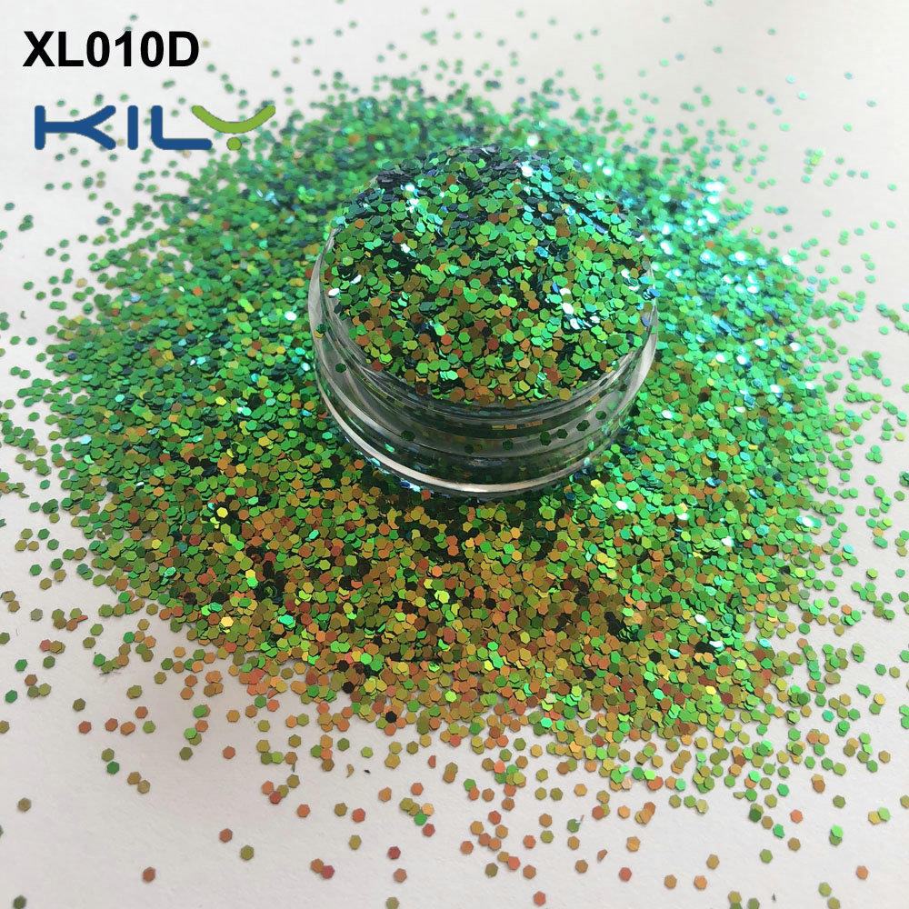 KILY Shifting Cosmetic Glitter Bulk Custom Glitter for Face and Body XL010D