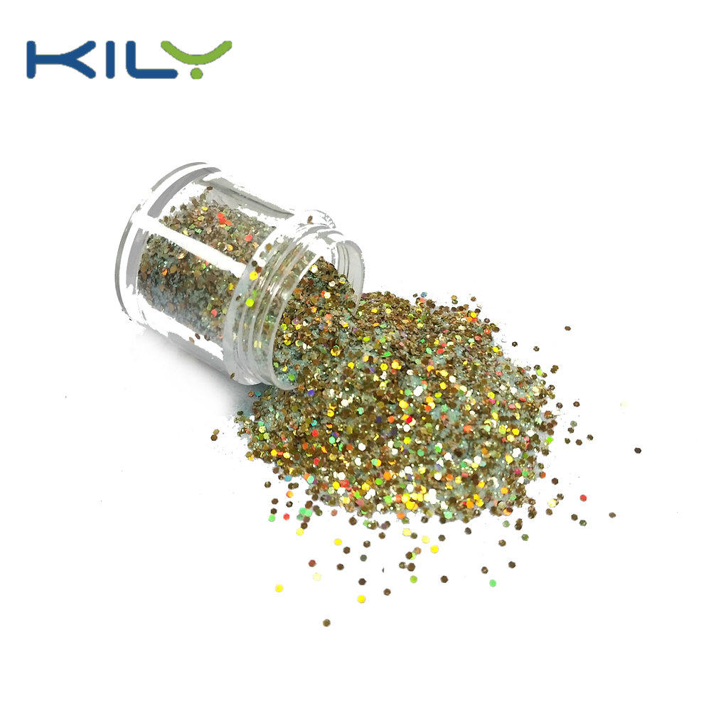 KILY Mix Colors Chunky Makeup Glitter for Music Festival CG49