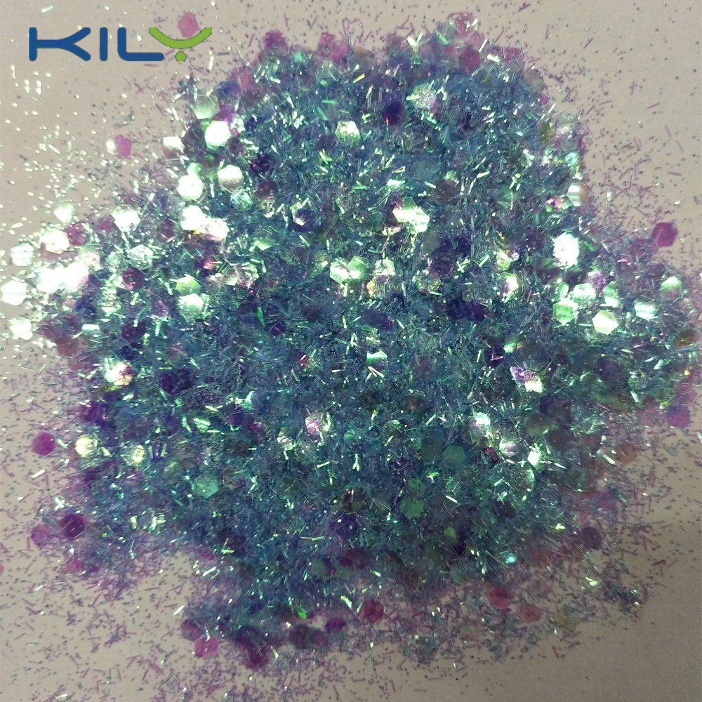 KILY Chunky Glitter Packed by jar glitter for pride day CG53