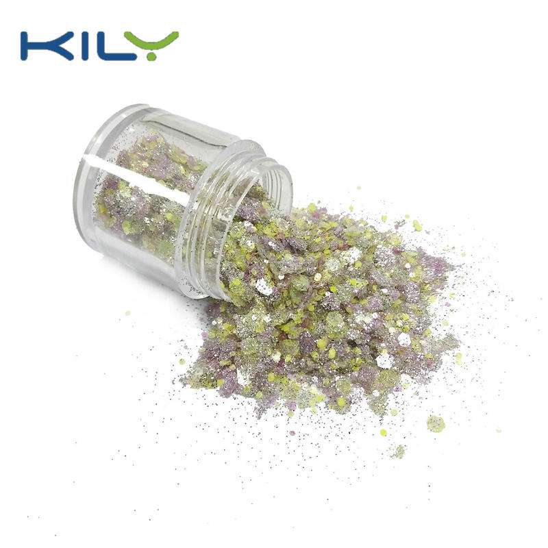 KILY Bulk Glitter Chunky Cosmetic Glitter Manufacturer CG57