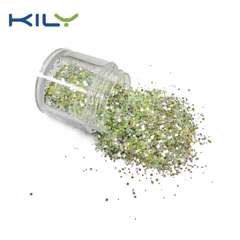 KILY Multi Color Chunky Glitter for Halloween Make up CG62