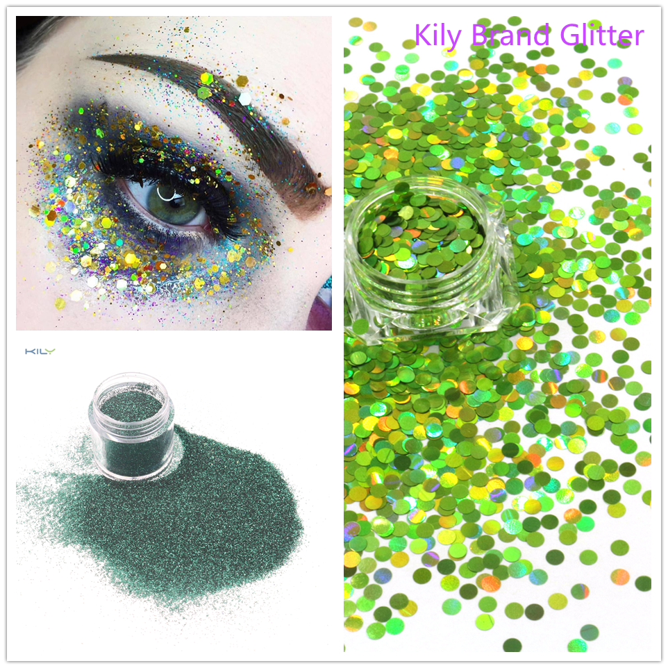 holographic glitter series for Halloween KILY