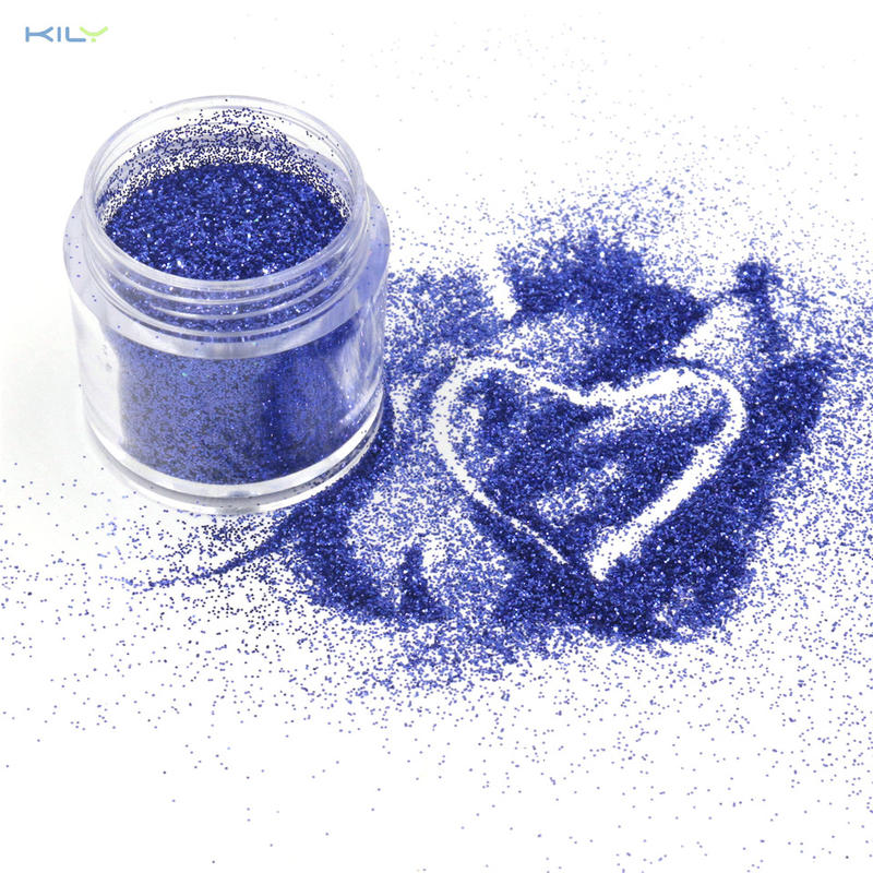 KILY Blue Fine Glitter Cosmetic Sparkle Glitter for Face and Lips B0704