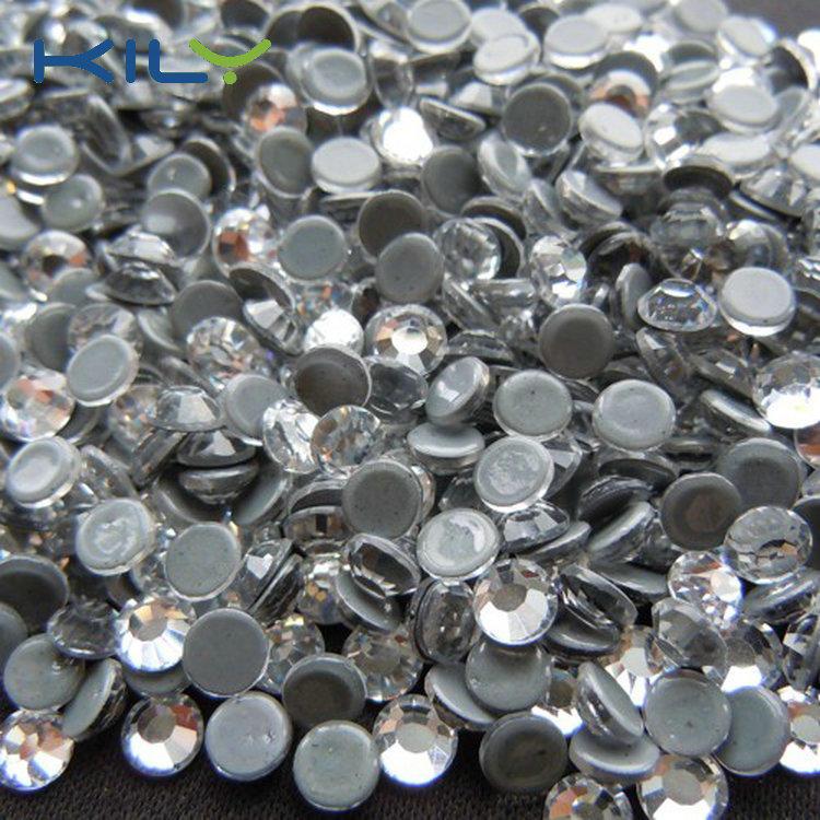 KILY High Quality China Swarovski Shinning Crystal Hot Fix Rhinestone