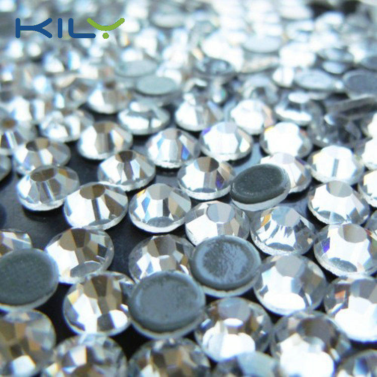 KILY High Quality China Swarovski Shinning Crystal Hot Fix Rhinestone