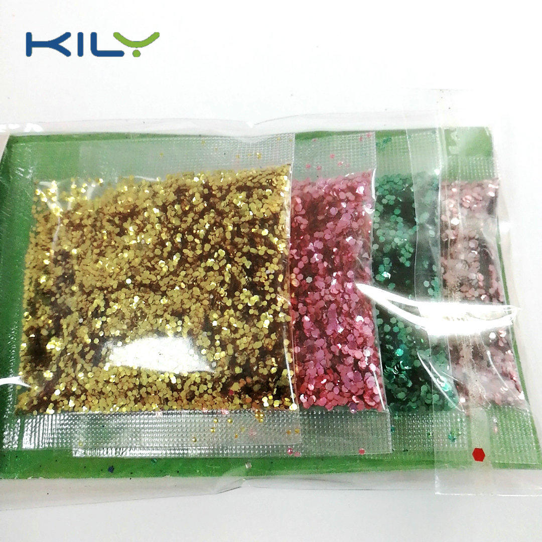 Cosmetic Biodegradable Glitter 10g bag glitter for party