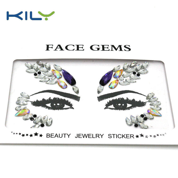 Face gems Halloween make up body art face paint decoration KB-1156