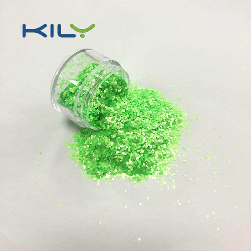Halloween Neon Glitter Fluorescent PET Glitter for Festival S0501