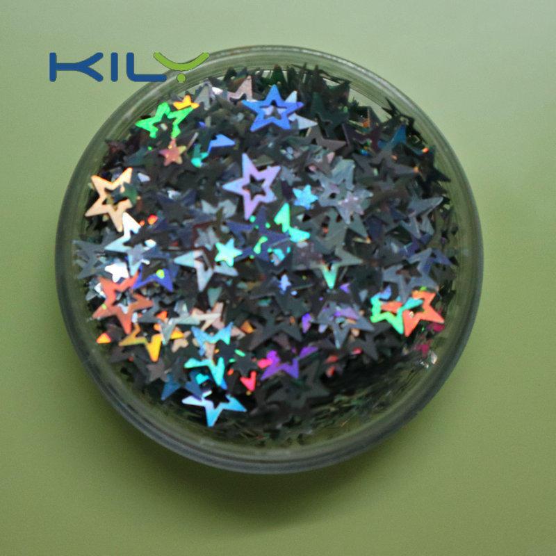 Hollow Star Glitter Shinning Face Makeup Stars Glitter for Christmas