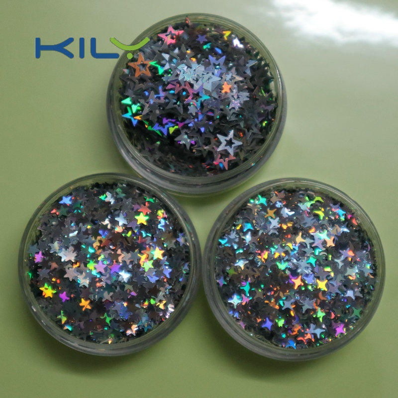 Hollow Star Glitter Shinning Face Makeup Stars Glitter for Christmas