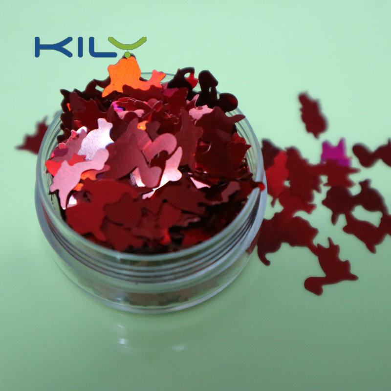 Dinosaur Glitter 10mm KILY Festival Cosmetic Glitter for Body Art