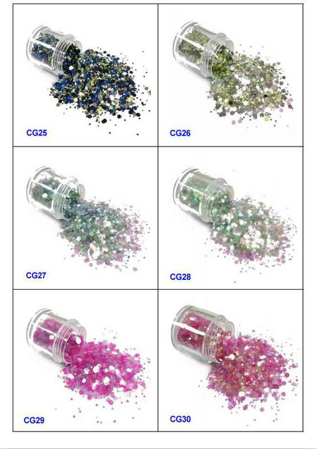 eco-friendly glitter eyes and lips iridescent easy to apply for handicrafts-5