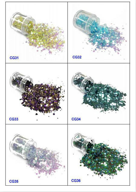 eco-friendly glitter eyes and lips iridescent easy to apply for handicrafts-6