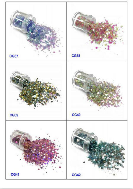 eco-friendly glitter eyes and lips iridescent easy to apply for handicrafts-7