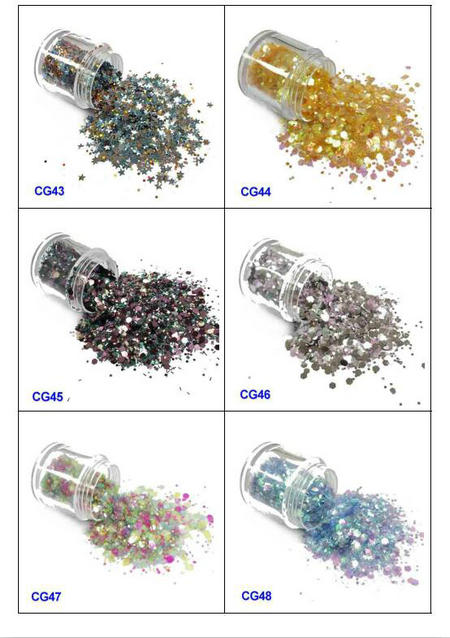eco-friendly glitter eyes and lips iridescent easy to apply for handicrafts-8