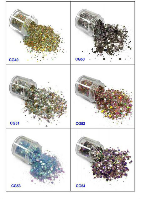 eco-friendly glitter eyes and lips iridescent easy to apply for handicrafts-9