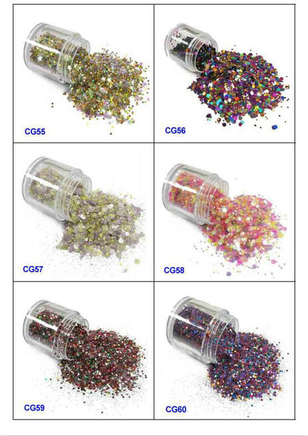 eco-friendly glitter eyes and lips iridescent easy to apply for handicrafts-10