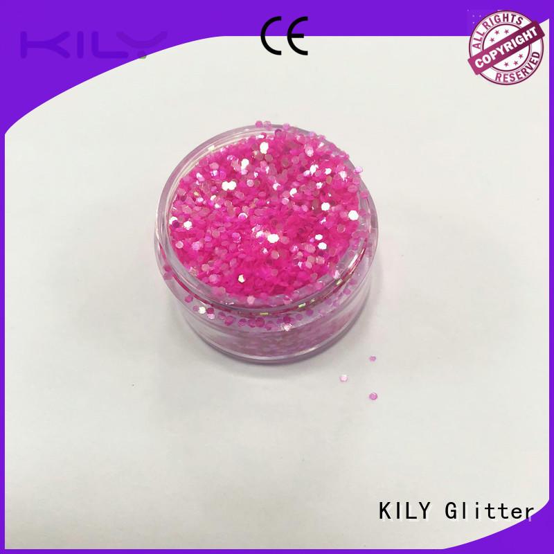 KILY online iIridescent glitter manufacturer for music festival