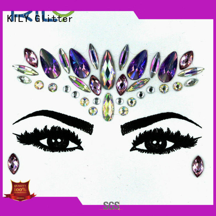 custom face jewels kb1085 wholesale for Christmas