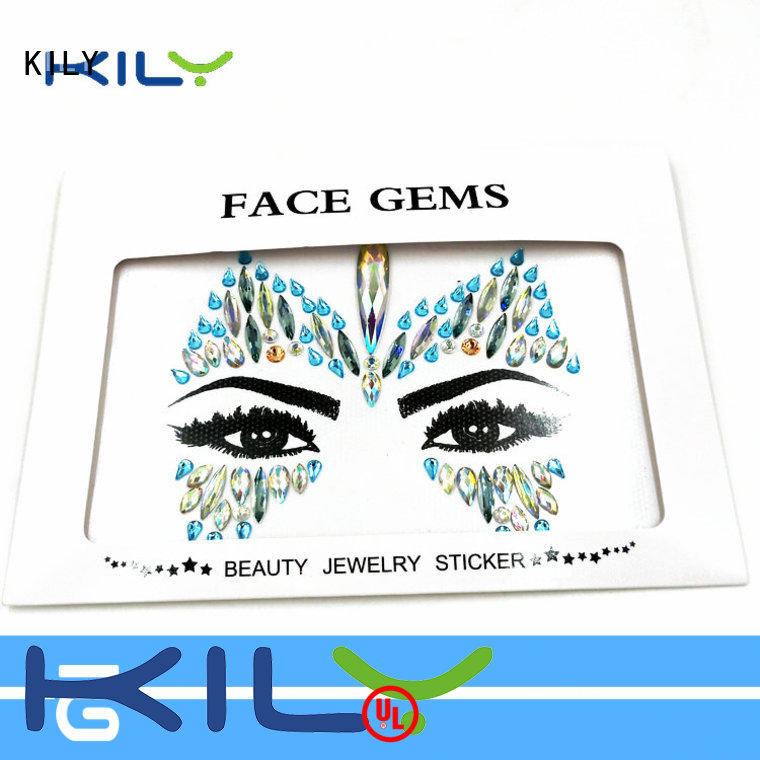 KILY online face and body jewels for carnival