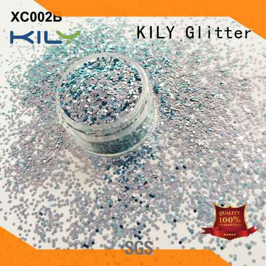 KILY easter shifting glitter supplier for fashion show