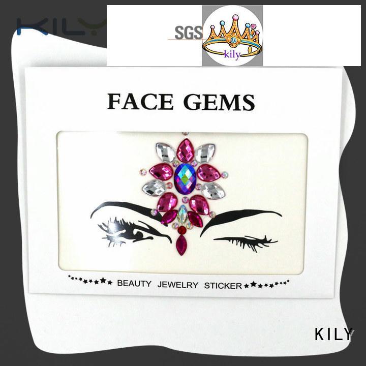 black face gems series for beach KILY