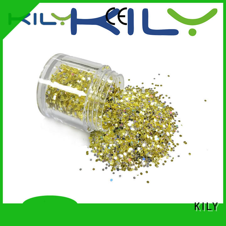 KILY professional chunky glitter wholesale for fashion show