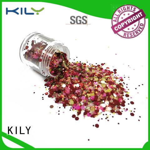 KILY safety glitter powder supplier for music festival