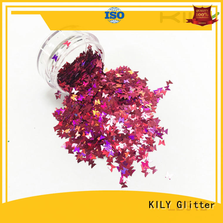 safety different shaped glitter shape wholesale for fashion show