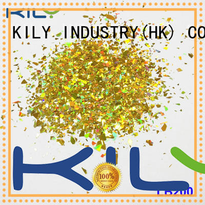 KILY online different shaped glitter supplier for sport meeting