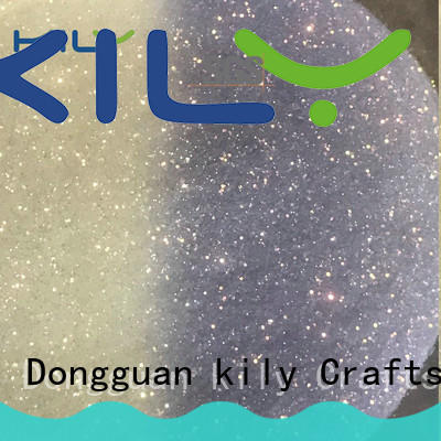 KILY uv glitter easy to apply for silk flowers