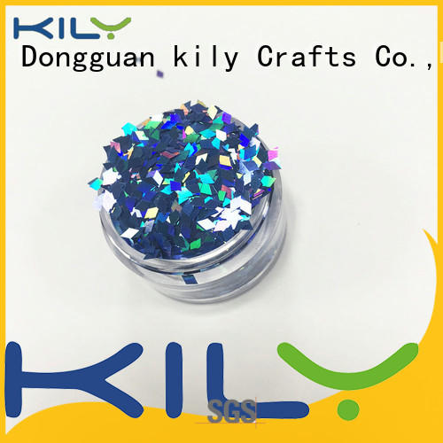 KILY professional shaped glitter for carnival