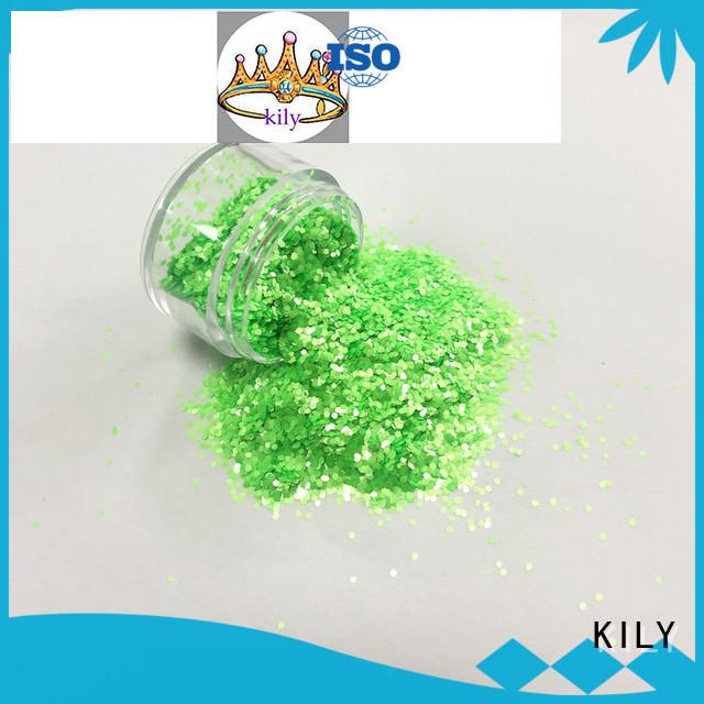 KILY colors neon glitter powder
